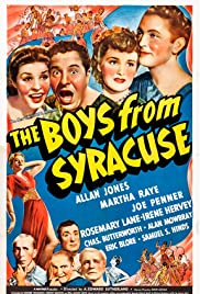 The Boys from Syracuse Poster