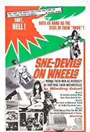 She-Devils on Wheels Poster