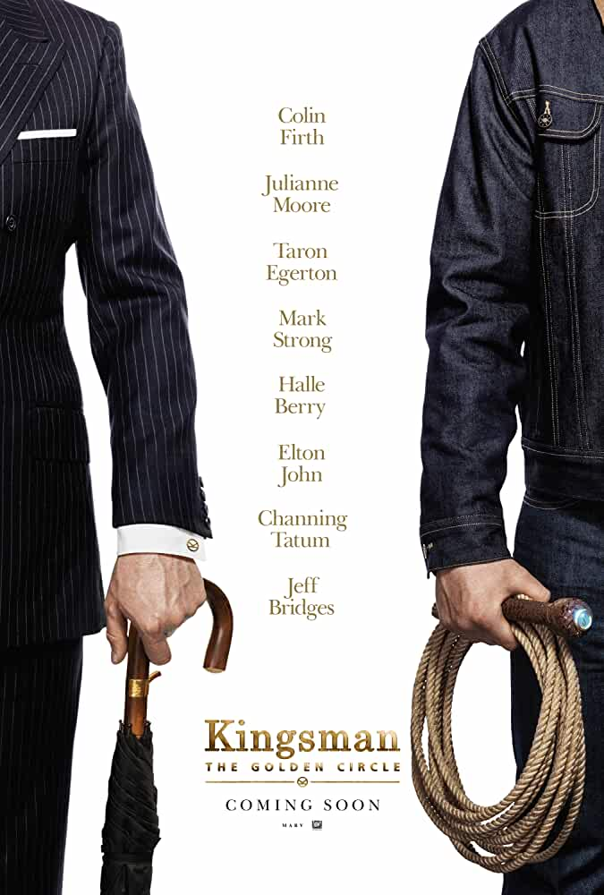 Poster Kingsman The Golden Circle (2017) Full HD Movie Download Dual Auido