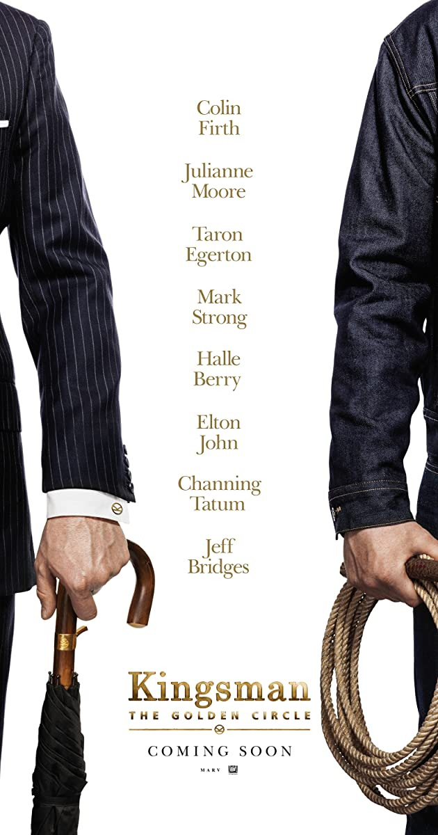 Image result for kingsman golden circle movie poster