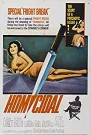 Homicidal (1961) Poster - Movie Forum, Cast, Reviews