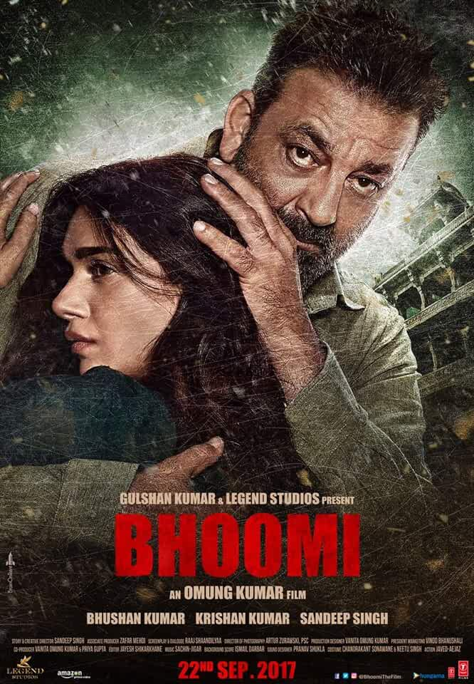 Poster Bhoomi 2017 Free Full Movie Download HD 720p