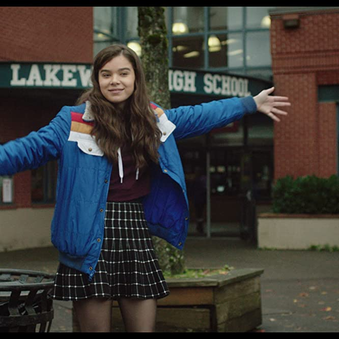 Hailee Steinfeld in The Edge of Seventeen (2016)