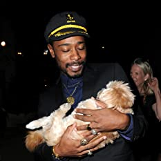 Keith Stanfield and Marnie The Dog