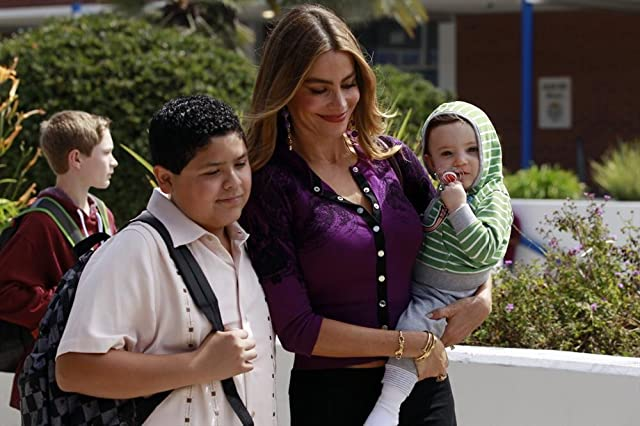 Sofía Vergara and Rico Rodriguez in Modern Family (2009)
