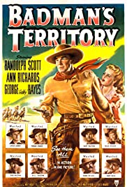 Badman's Territory (1946) Poster - Movie Forum, Cast, Reviews