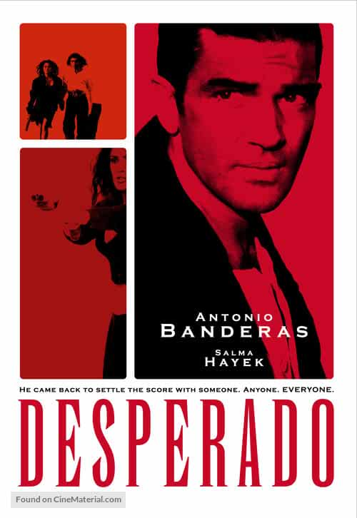 Desperado 1995 Hindi Dual Audio 720p BluRay full movie watch online freee download at movies365.ws