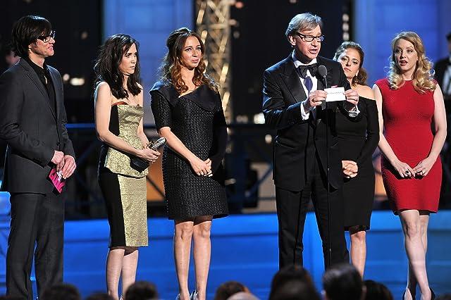Jim Carrey, Paul Feig, Maya Rudolph, Wendi McLendon-Covey, Kristen Wiig, and Annie Mumolo