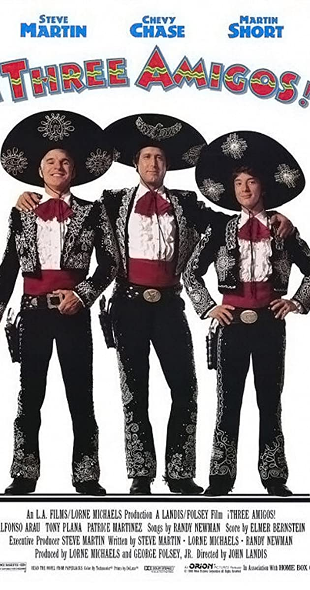 three amigos 1986 imdb