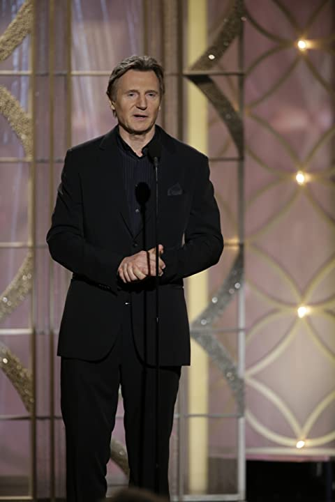 Liam Neeson at an event for 71st Golden Globe Awards (2014)