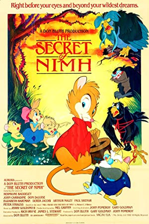 The Secret of NIMH Pelicula Poster