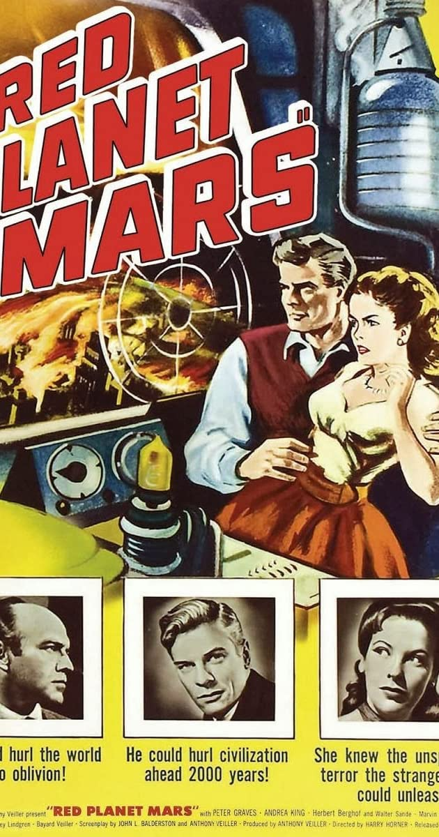 red planet mars 1952 dvd - photo #3
