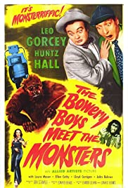 The Bowery Boys Meet the Monsters (1954) Poster - Movie Forum, Cast, Reviews