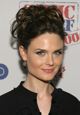 Emily Deschanel at an event for Comic Relief 2006 (2006)