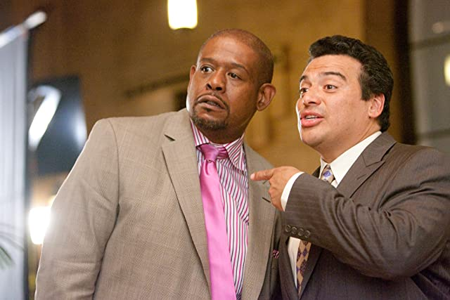 Forest Whitaker and Carlos Mencia in Our Family Wedding (2010)