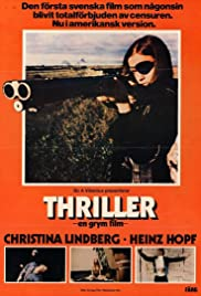 Thriller: A Cruel Picture Poster