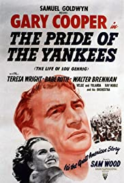 The Pride of the Yankees Poster