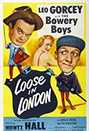 Loose in London (1953) Poster - Movie Forum, Cast, Reviews