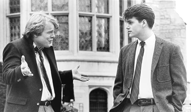 Philip Seymour Hoffman and Chris O'Donnell in Scent of a Woman (1992)