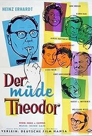 Der müde Theodor Poster