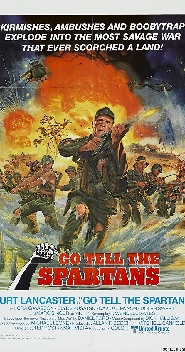 Go Tell the Spartans (1978) - IMDb
