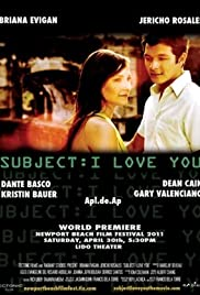 Subject: I Love You (2011) Poster - Movie Forum, Cast, Reviews