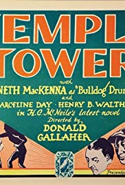 Temple Tower Poster