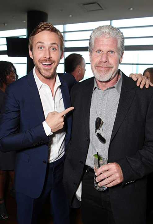 Ron Perlman and Ryan Gosling at Drive (2011)