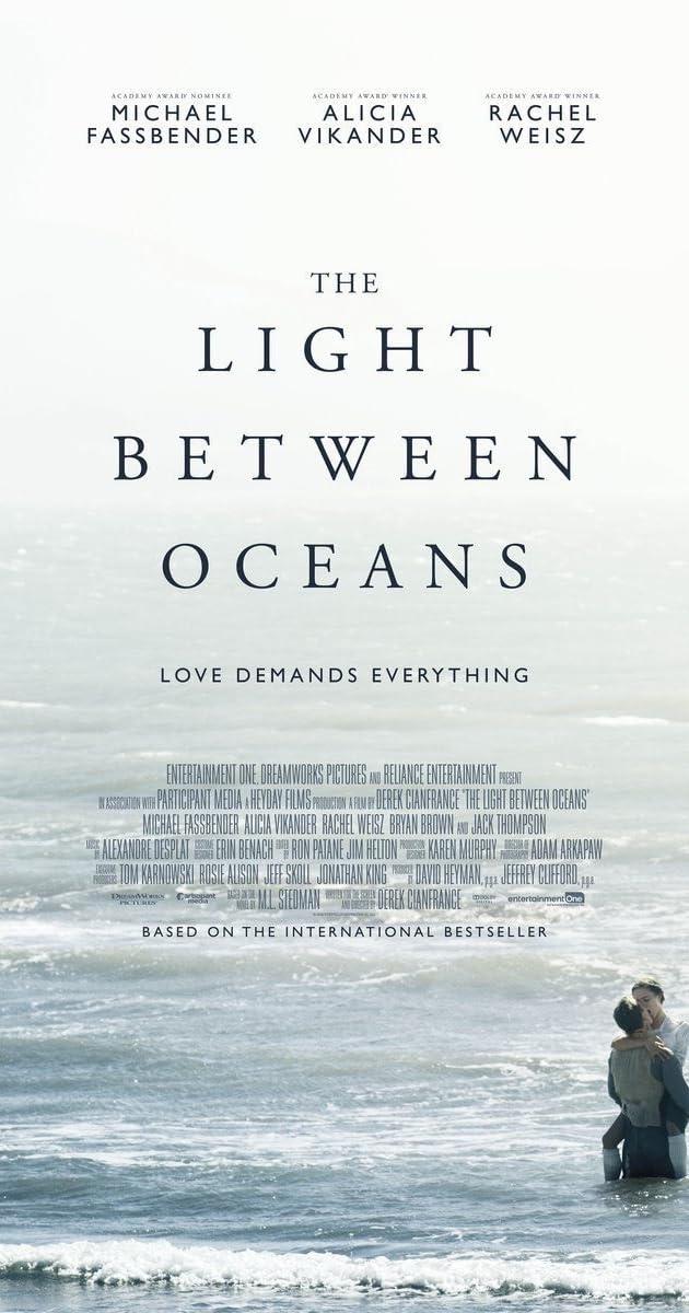 Švyturys tarp dviejų vandenynų / The Light Between Oceans (2016) Online