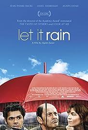 Parlez-moi de la pluie Poster