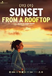 Sunset from a Rooftop Poster