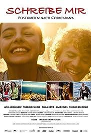 Schreibe mir - Postkarten nach Copacabana Poster