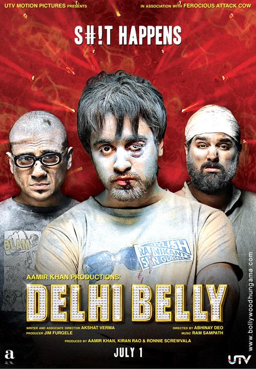 Delhi Belly 2011 720p DvDRip Full Movie Download Watch Online
