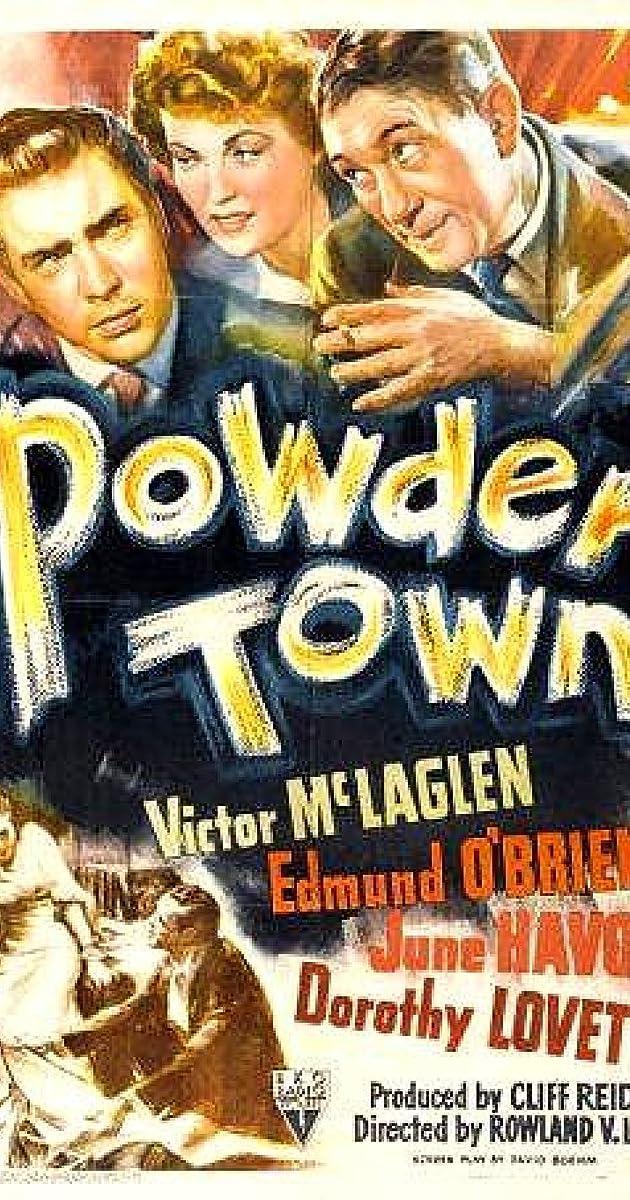 Risultati immagini per powder town film1942
