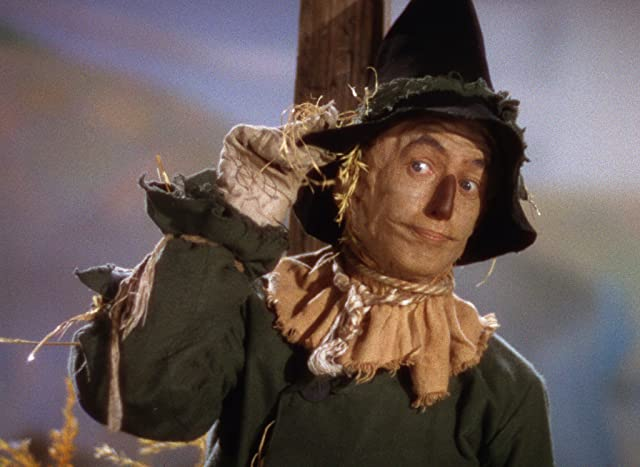 Ray Bolger in The Wizard of Oz (1939)