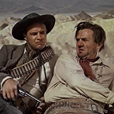 Marlon Brando and Karl Malden in One-Eyed Jacks (1961)