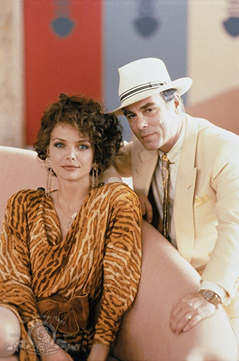 Michelle Pfeiffer and Dean Stockwell in Married to the Mob (1988)