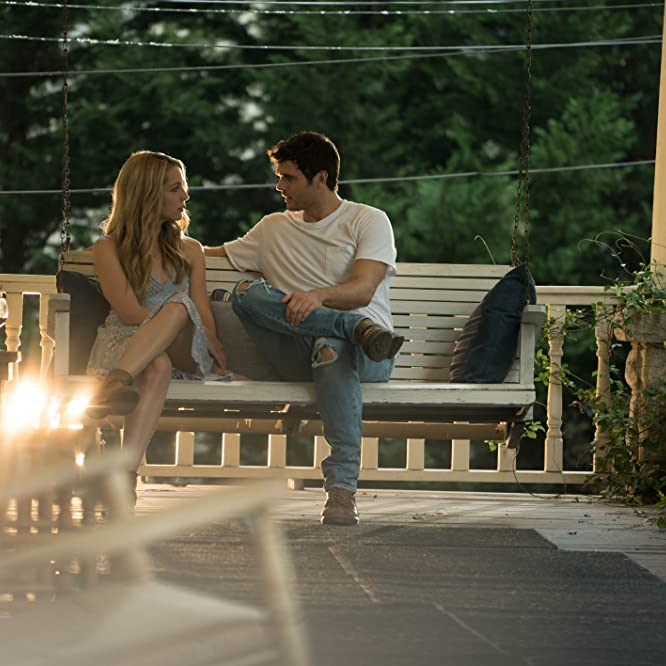 Alex Roe and Jessica Rothe in Forever My Girl (2018)