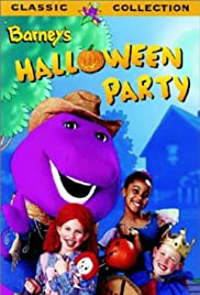Barney's Halloween Party Poster