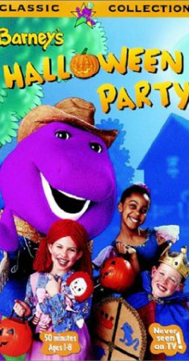 Barney S Halloween Party Video 1998 Imdb