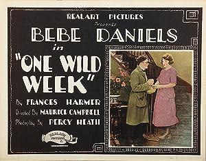 One Wild Week