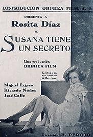 Susana Has a Secret Poster