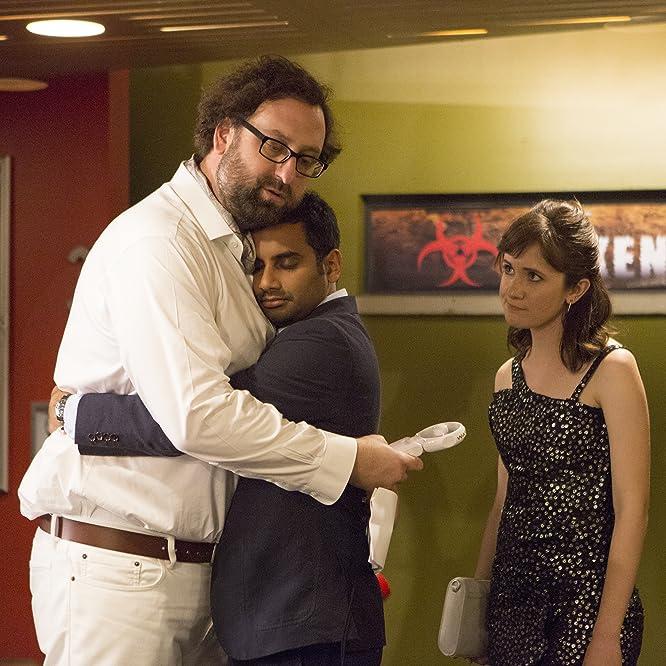 Eric Wareheim, Aziz Ansari, and Noël Wells in Master of None (2015)