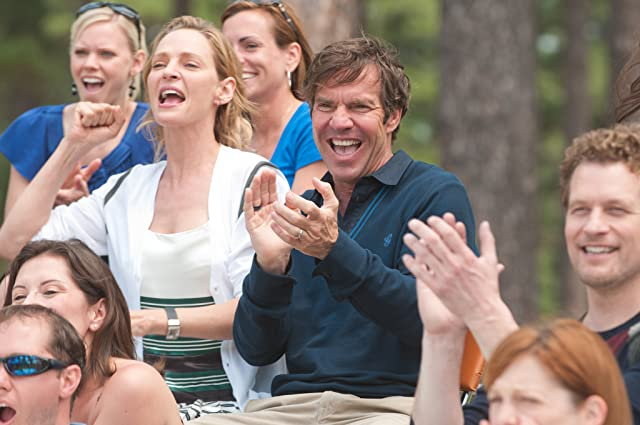 Uma Thurman, Dennis Quaid, and James Tupper in Playing for Keeps (2012)