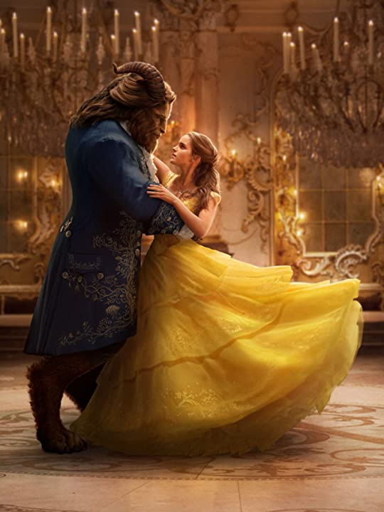 Emma Watson and Dan Stevens in Beauty and the Beast (2017)