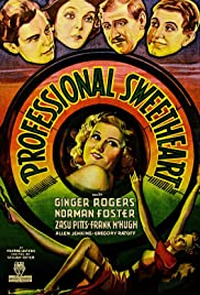 Professional Sweetheart (1933) Poster - Movie Forum, Cast, Reviews