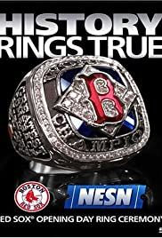 History Rings True: Red Sox Opening Day Ring Ceremony Poster