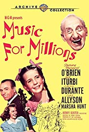 Music for Millions Poster