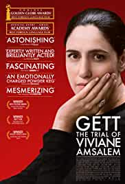 Gett: The Trial of Viviane Amsalem film poster