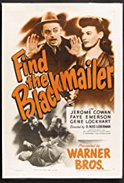 Find the Blackmailer (1943) Poster - Movie Forum, Cast, Reviews